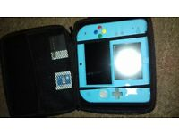 Limited edition pokemon moon 2ds blue