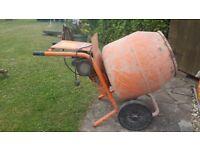Belle mini 140 cement mixer