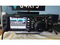 YAESU FT991,,FTM100DE,,, HRI200