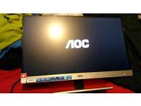 AOC I2757FM 27 Inch Full HD LED IPS Monitor