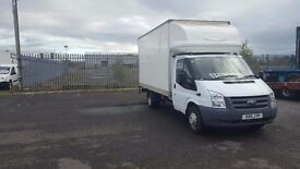 2011- 11 plate ford transit 350-115 extended frame 13ft luton box van very low miles plus vat