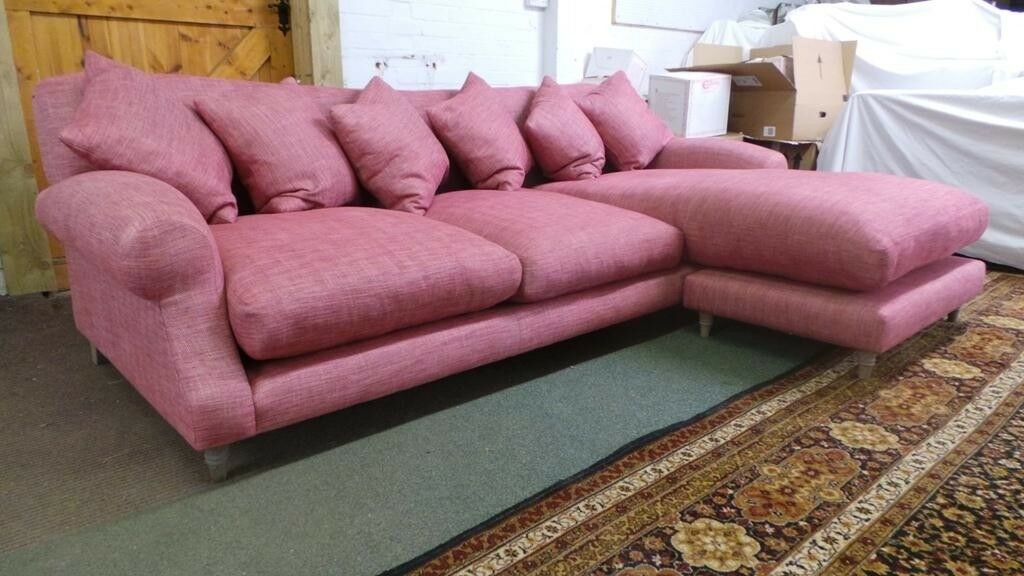 Beautiful Large Loaf Sofa Crumpet Chaise XL /Corner s New Condition ...