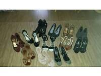Ladies shoes heels Sz 3