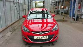 2012 Vauxhall astra sri cdti