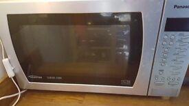 Panasonic Slimline Combi 1000w Microwave plus Convection Oven (needs repair)