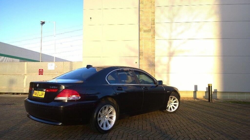 BMW 745 Black E65 19 Alloys GBP2200