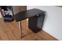 Manicure Technicians Table Station Nail Bar in Black Matt /Ref: 1503