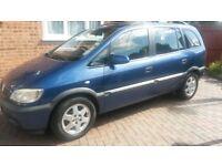 Vauxhall Zafira 1.8 Elegance FOR SALE!
