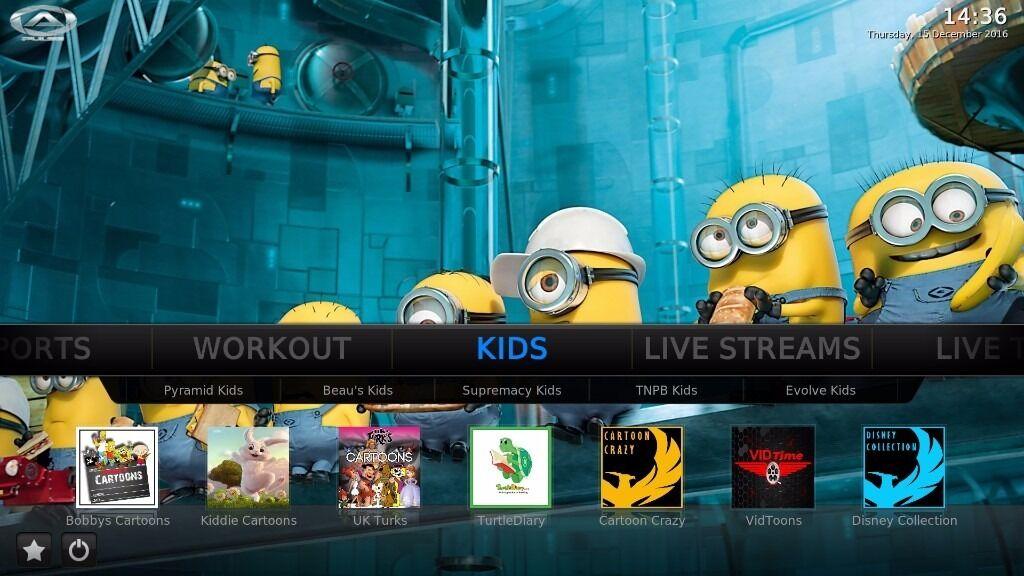 AMAZON FIRE TV STICK KODI (16.1 Jarvis) fully loaded Movies,Sports,Tv Shows  & kids tv,XXX