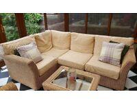 Cream conservatory furniture