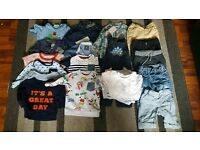 6-9 bundle of boys clothes