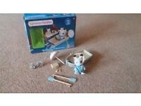 Sylvanian Familes - Canal Rowing Boat & Accessories