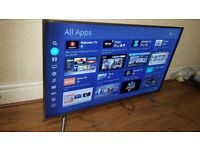 HISENSE 50-inch PREMIUM Smart 4K ACTIVE UHD ULED TV,builtin Wifi,Freeview & FREESAT,GREAT Condition