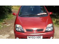 Renault Scenic 1.6 spares and repair runs and drives