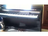 Yamaha Clavinova CLP240PE - full size digital piano weighted keys polished ebony excellent condition