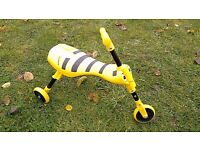 Scuttlebug Bumblebee Ride-On, great fun, good clean condition