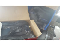 brand new boots £10 per pair 2 pairs steel toe cap boots (brand new) size 9