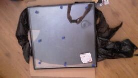 New External Door Toughened Glass Panel Argon Filled 618x635
