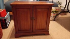 Attractive Mahogany cabinet/cupboard - Antique/vintage - various uses
