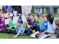 Football and Bubble Football Birthday Parties for kids | uSports | Reading | Berkshire |