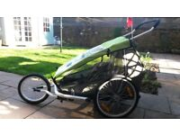 Croozer Kid for 2 bike trailer /Stroller and for Jogger