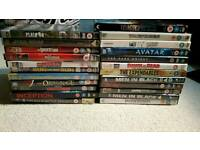 Mix DVDs. Sold job lot or individually.