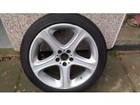 BMW X5 4.6is - 20inch Front Alloy Wheel