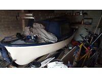 12.5ft Fibreglass Boat