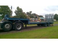 HGV plant, machinery, and tractor puller trailor