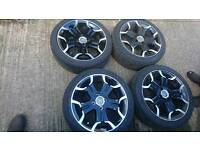 Citroën ds3 alloy wheels and tyres