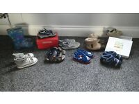 infants wellies and shoe bundle size 4-6