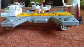 Matchbox spaceship