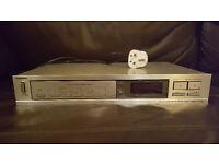 Toshiba Hifi Radio Tuner Stereo Audio Separate ST-S33L 1980's Retro in Silver