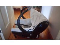 Bebe confort Creatis car seat (birth - 9 months, 0-13 kg) , used