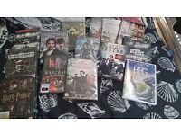 All new and sealed dvds/boxsets