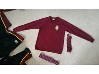 School uniform our ladys pe kit etc .. jumper with 2 tied £15