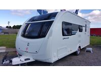 Sterling (Swift) Cruach Cuillin - 4 Berth Touring Caravan