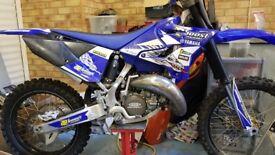 Yamaha yz 125cc motocross