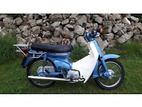 Honda C90 Cub 90 only 2000 miles from new!