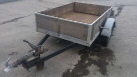 6' 4 by 4' 4 braked trailer