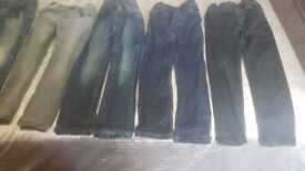 BOYS CLOTHES, USED GOOD CON, AGE 5, 16 ITEMS, NAME BRANDS, £20