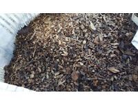 Wood chips 1.5 cubic metres