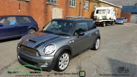 2007 BMW MINI COOPER S R56 TURBO GREY BREAKING SPARES PARTS SALVAGE
