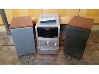 Sony S Master Stereo CD Player/tape/radio