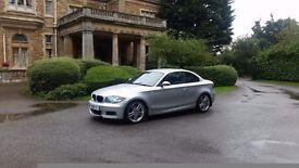 BMW 1 SERIES 123D ***SAT NAV HEATED LEATHER SEATS***