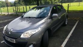 Renault Megane 2011 Grey. Private sale. Petrol. 5 door. 2 previous owners. Excellent condition.