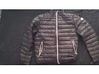 Mens Black Moncler Daniel Down Jacket (XL)