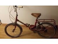 Gorgeous vintage folding bike