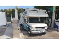 Ford e350 rv american motorhome 7.3 diesel auto left hand drive lhd