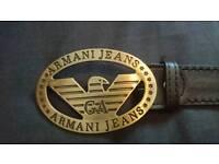 Mens Armani Belt